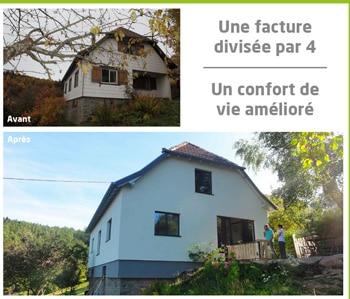 Exemple rénovation énergétique sud Meuse