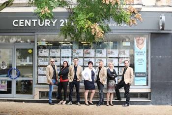 Immobilière Saint-Paul devient Century 21
