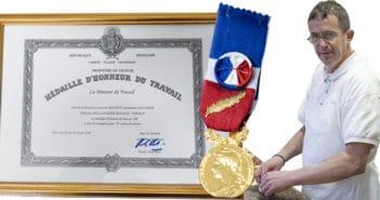 Médaille d'honneur Boulangerie Renaud Laurent Maginot