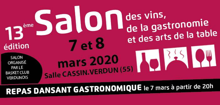 Salon vin gastronomie de Verdun 2020