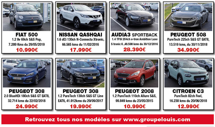 Sélection de véhicules d'occasion à Belleville sur Meuse
