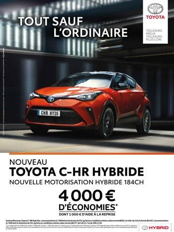 Toyota CHR Hybride Meuse