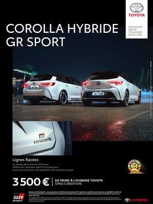Toyota Corolla Hybride Meuse