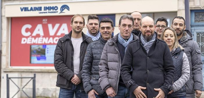 L'équipe de Velaine Immo à Saint-Mihiel