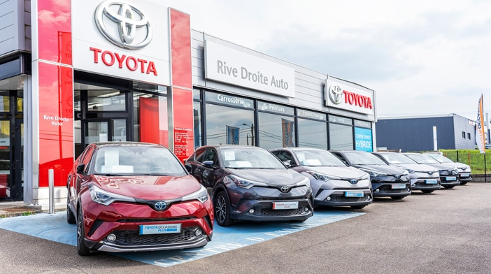 Toyota CH-R d'occasion Meuse et Haute Marne