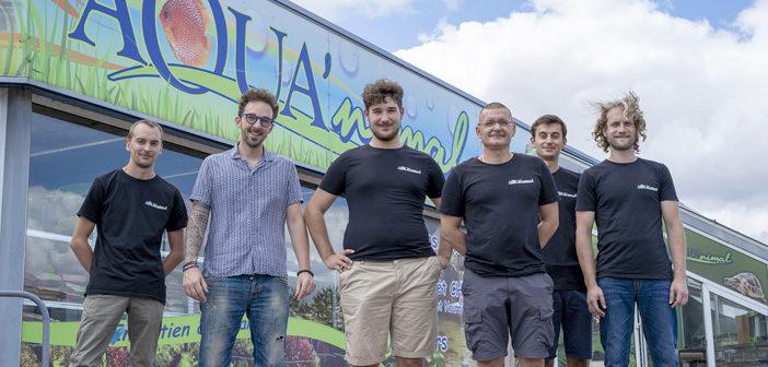 Nouvelle équipe d'Aqua'nimal à Verdun