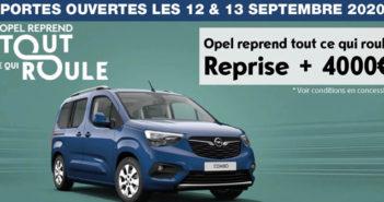 Portes ouvertues Opel Meuse et Haute Marne