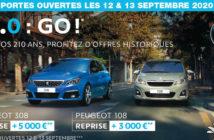Peugeot : Portes ouvertes septembre 2020 à Belleville sur Meuse