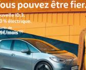 L'ID.3 ouvre un nouveau chapitre  de l'aventure Volkswagen