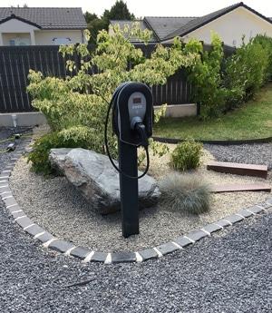 Borne rechargement automobile Verdun meuse