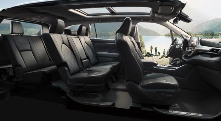 Intérieur Toyota Highlander
