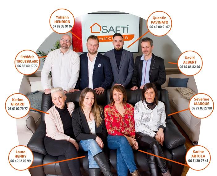 Vos conseillers immobiliers SAFTI en Meuse